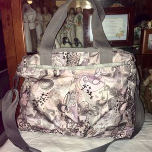 Lesportsac Butterfly Baby Diaper Cross Body Bag
